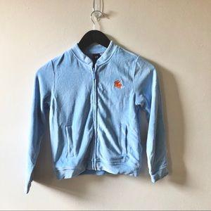 Gap Baby Blue Zip Up Jacket